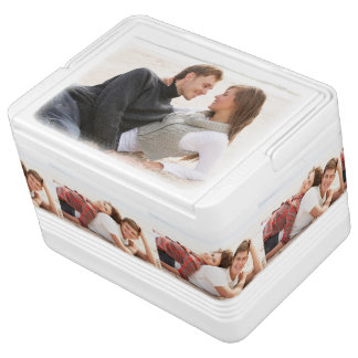 Personalized photo can cooler. Make your own! Cooler
