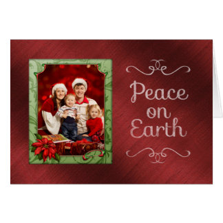 Personalized Photo Christmas Card