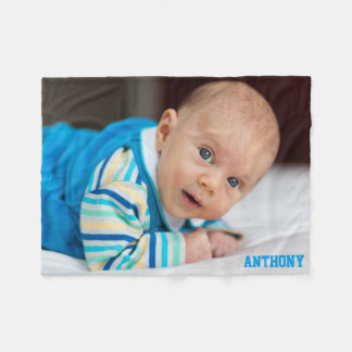 Personalized Photo Fleece Blankets Add Your Photo
