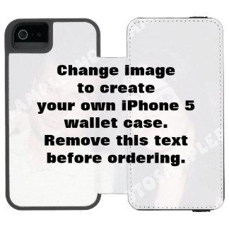 Personalized photo iPhone 5 wallet case. Incipio Watson™ iPhone 5 Wallet Case