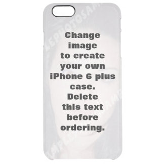 Personalized photo iPhone 6 plus case. Clear iPhone 6 Plus Case