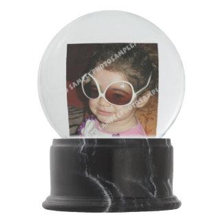 Personalized photo snow globe. Make your own! Snow Globe