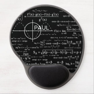 Personalized Physics Gifts for Physicists Gel Mouse Pad
