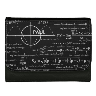 Personalized Physics Gifts for Physicists Wallet For Women