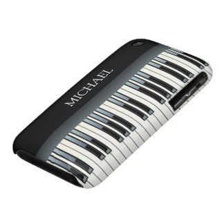 Personalized Piano Keys Case-Mate iPhone 3 Case