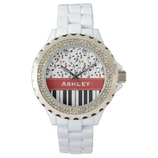 Personalized Piano Keys Watch