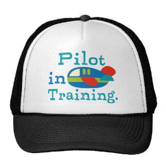 Personalized Pilot in Training Cap