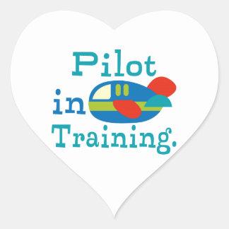 Personalized Pilot in Training Heart Sticker