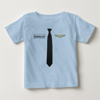 Personalized Pilot Shirt, Aviation Kids Clothing Baby T-Shirt