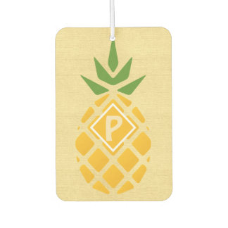 Personalized Pineapple Car Air Freshener