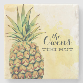 Personalized Pineapple Coasters