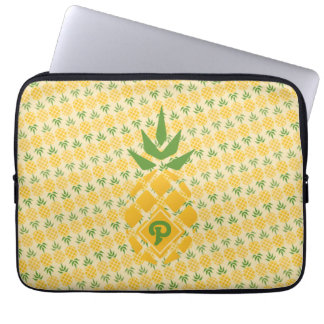 Personalized Pineapple Diagonal Laptop Sleeve
