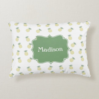 Personalized Pineapple Stamp Pattern Decorative Cushion