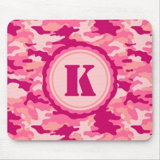 Personalized Pink Camo Pattern Mousepad