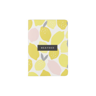 Personalized | Pink Lemonade Passport Holder