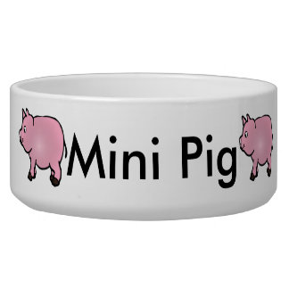 Personalized Pink Mini Pig