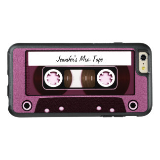 Personalized Pink Mix Tape OtterBox iPhone 6/6s Plus Case