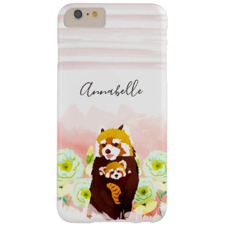 Personalized Pink Red Panda iPhone 6/6s Plus Case