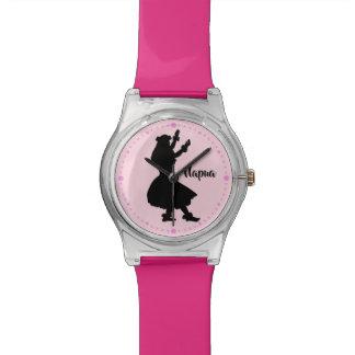 Personalized Pink Watch Hawaiian Hula Girl Dancer