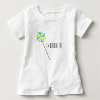 Personalized Pinwheel Apparel Baby Bodysuit