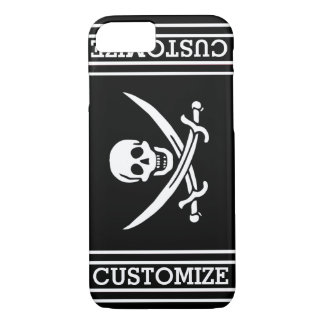 Personalized Pirate Flag iPhone 8/7 Case