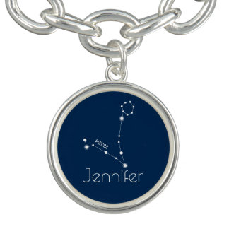 Personalized Pisces Zodiac Constellation