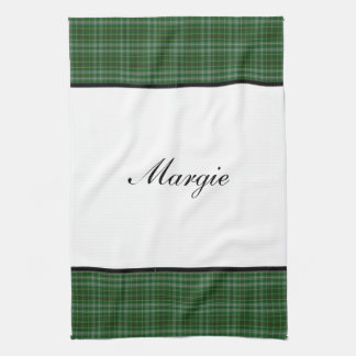 PERSONALIZED PLAID HAND TOWEL TEMPLATE