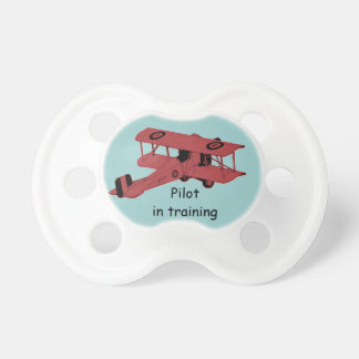 Personalized plane pacifier