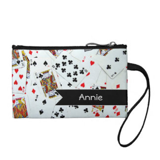 Personalized Playing Cards Coin Purse