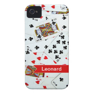 Personalized Playing Cards Games iphone cover iPhone 4 Case