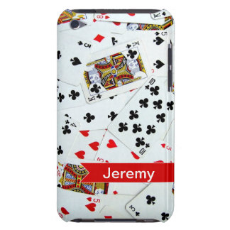 Personalized Playing Cards Games iPod Touch Covers