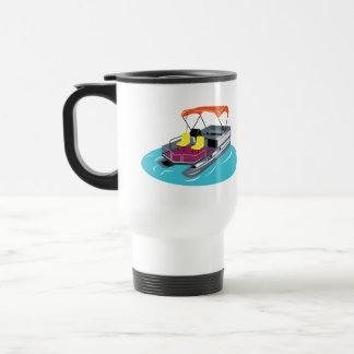 Personalized Pontoon Boat Travel Mug