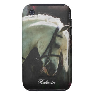 Personalized pony tough iPhone 3 covers