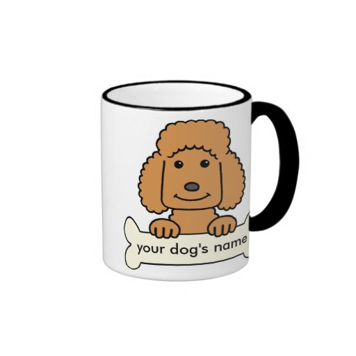 Personalized Poodle Mug