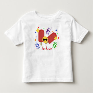 Personalized Popsicle Tee
