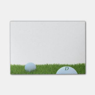 Personalized Post-it® Notes for Golfers