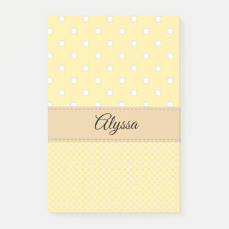 Personalized post it's post-it notes
