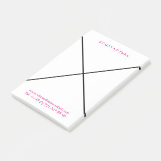 Personalized Postits for cool companies Post-it Notes