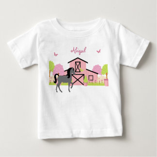 Personalized Pretty Barn & Garden Horse T-Shirt