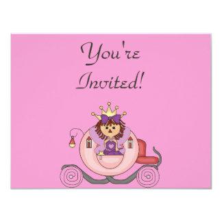 Personalized Princess Birthday invitations
