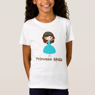 Personalized Princess - Teal T-Shirt