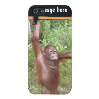 Personalized Protest Sign Great Ape Case For iPhone 5/5S