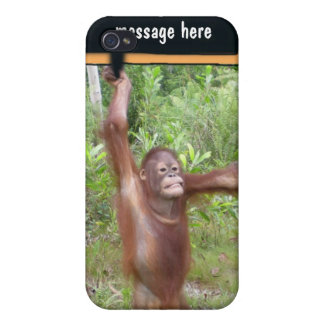 Personalized Protest Sign Great Ape iPhone 4/4S Cover