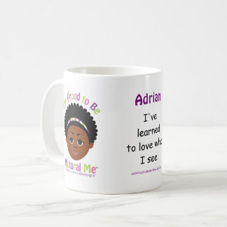 Personalized #Proud2BNaturalMe Coffee Mug
