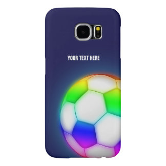 Personalized Psychedelic Soccer   Football Ball Samsung Galaxy S6 Cases