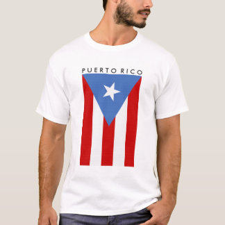 Personalized Puerto Rican Flag T-Shirt