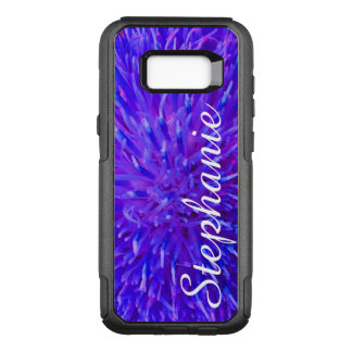 Personalized Purple Abstract Samsung Galaxy S8+