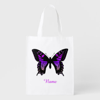 Personalized Purple Ombre Wing Butterfly
