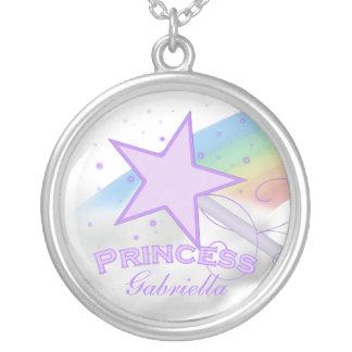Personalized Purple Princess Necklace