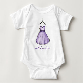 Personalized Purple Retro Prom Pretty Party Dress